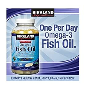 Kirkland fish oil 684 mg omega 3 2 bottles for Kirkland fish oil review