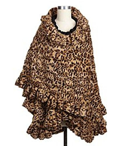 adrienne-landau-faux-fur-angel-wrap-with-ruffles-classic-leopard