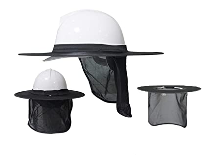 54255bfd398 Image Unavailable. Image not available for. Color  Hard hat sun visor ...