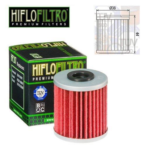 FILTRO OLIO MOTORE HIFLO HF207 PER KAWASAKI KX 250 F 2014 FAR