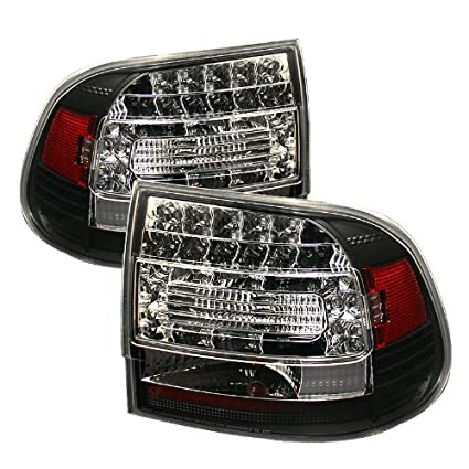 Spyder Auto Porsche Cayenne Black LED Tail Light