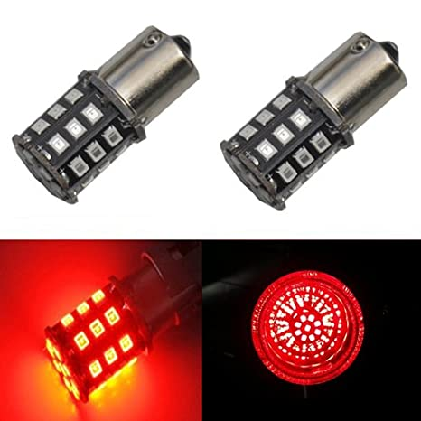 JDM Astar ax-2835 Chipsets 1156 1141 1073 7506 bombillas LED para luces de freno Luces de cola Turn Signal, color rojo: Amazon.es: Coche y moto