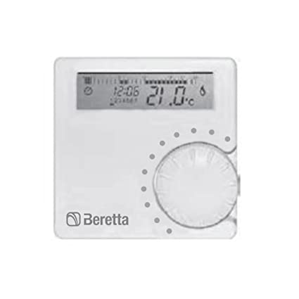 Beretta 20063872 Alpha 7d cronotermostato semanal digital