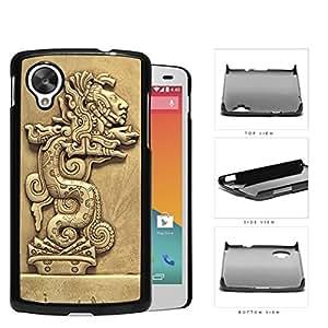 Beast Devours Man Mayan Clay Sculpture Hard Plastic Snap On Cell Phone Case LG Nexus 5