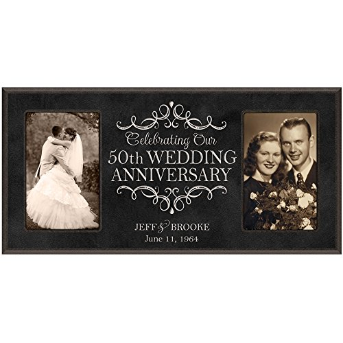 50 anniversary picture frame - 8