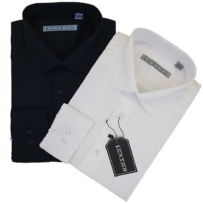 Amazon.com: Luxton para hombre camisa, [2 Paquetes] para ...