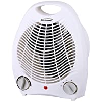 Brentwood Appliances H-F302W 2in1 Portable Fan Heater White