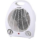 Brentwood Appliances H-F302W 2in1 Portable Fan Heater White