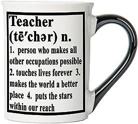 Teacher Mug, Teacher Coffee Cup, Ceramic Teacher Mug, Custom Teacher Gifts By Tumbleweed