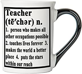 Teacher Mug, Teacher Coffee Cup, Ceramic Teacher Mug, Custom Teacher Gifts By Tumbleweed