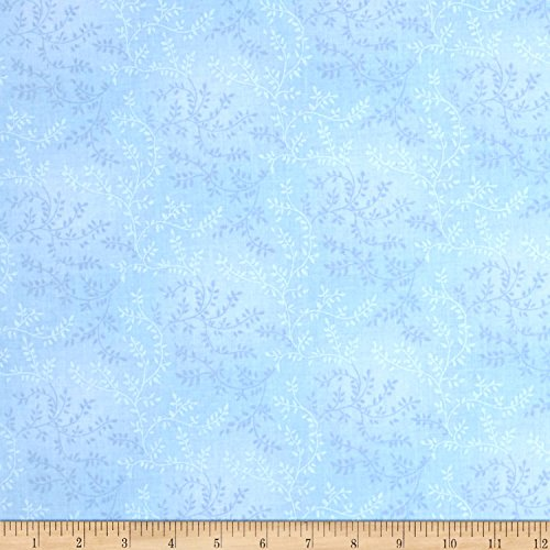 Santee Print Works 108in Wide Back Tonal Vineyard Light Blue Fabric by The -