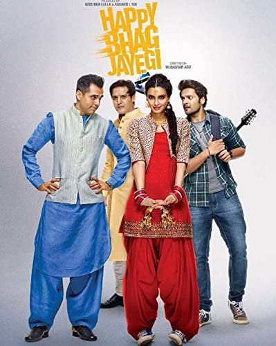 Happy Bhaag Jayegi Comedy at amazon