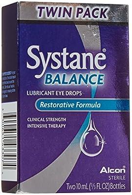 Systane Balance Lubricant Eye Drops twinpack - 20 ml - 2
