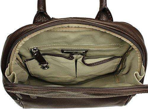 Neue Hand Tasche , Sac à main porté au dos pour femme marron marron 1
