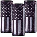 PAMASE 3 Pcs American Flag Outdoor Face