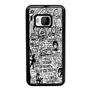 HTC One M9 Cell Phone Case Black my chemical romance by loo sea AS7YD3605049