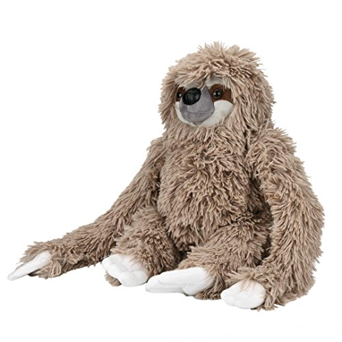 Gbell Child Kids Toddler Baby Infant Soft Plush Sloth Adorable Sloth Doll Stuffed Bedtime Toys  Gray