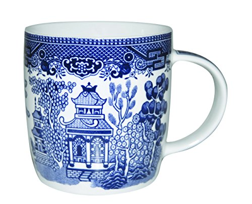 Churchill Blue Willow Dinnerware (Mug 11 Oz) Heart London Mug