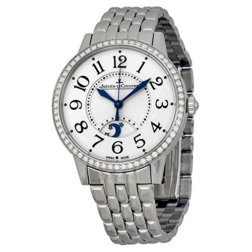 Jaeger LeCoultre Rendez-Vous Silver Dial Stainless Steel Diamond Ladies Watch ()