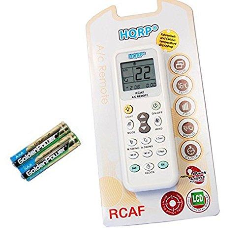 HQRP Universal A/C Remote Control compatible with Mitsubishi Fujitsu Sharp...
