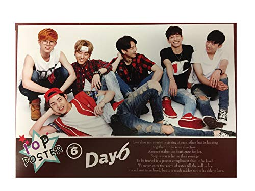 - Fancy105 Kpop DAY6 Photo Posters (10 Pieces)