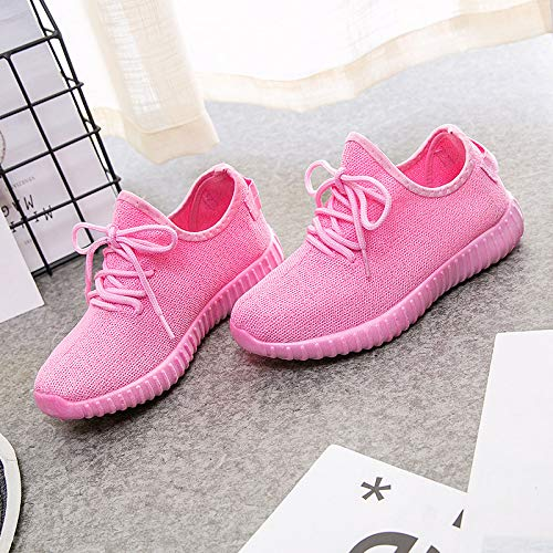 Net Pink Shoes Zapatos Sneakers Single Fashion Candy Mujeres Hasag Zapatos Zapatos Color Casual 5gp7qRRw