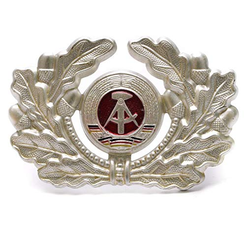 East German DDR Army Military NVA Soldier Aluminium Hat Cockade Cap Badge