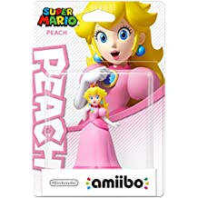 NINTENDO La figurine Amiibo Peach est jouable dans Ace Combat Assault Horizon Legacy + 3DS, Amiibo Touch & Play Wii U, Captain Toad Treasure Tracker Wii U, Hyrule Warriors Wii U, Mario Kart 8 Wii U, Mario Party 10 Wii U, Super Mario Maker Wii U, Yoshi's Woolly World Wii U, Super Smash Bros Wii U & 3DS. Compatible Wii U / New 3DS - 3DS XL / 2DS / 3DS.