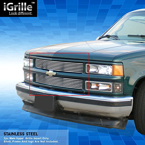 - Off Roader Stainless Steel eGrille Billet Grille Grill for 94-99 C/K Pickup/Suburban/Blazer/Tahoe