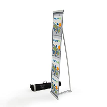 Amazon Mesh Magazine Stand Roll Out Brochure Holder 40 Fascinating Portable Literature Display Stands
