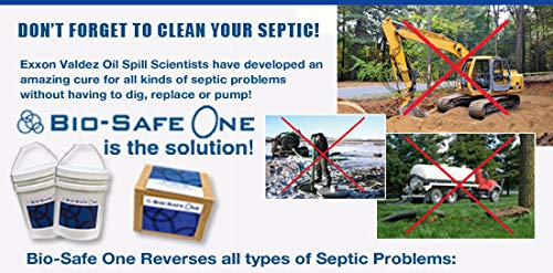 Bio-Safe One Level 3 Shock System- LVL3 Septic Tank Drain Field Restoration Cleaning System - Patented Bacterial Enzyme Based for All Septic Septic Systems, Cesspools, 3rd Level Package by Bio-Safe One, Inc. (Image #8)