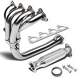 For Honda EJ EG EK 4-1 Design Header Stainless Steel Tubular Exhaust Manifold+Piping