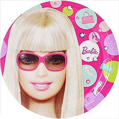 sc 1 st  Amazon.com & Barbie \u0027All Doll\u0027d Up\u0027 Small Paper Plates (8ct)