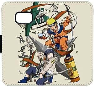 Naruto Hyuuga Hinata y Naruto Uzumaki Som U3Y1Q Funda Samsung Galaxy Note 5 caja de cuero funda e745K6 duro de moda del teléfono celular fundas caso del tirón