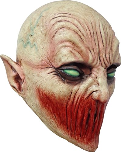 Child Size Deadly Silence Mask Bio Zombie Monster Halloween Latex Mask -
