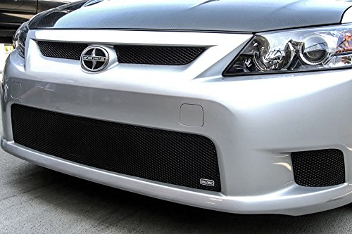 MX Series Black Upper 2pc Mesh Grill Grille Insert for Scion TC (Scion Tc Mesh Grill)