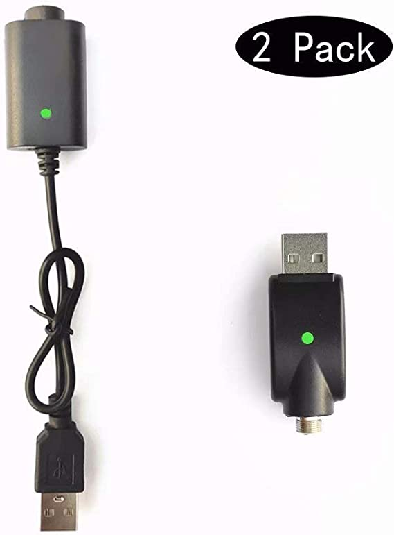 【2-Pack】 USB Charge Thread Charger Smart Over-Charge Protection