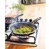 Ikea Kavalkad Frying Pan Set of 2, Black Teflon Classic Non-stick Coating