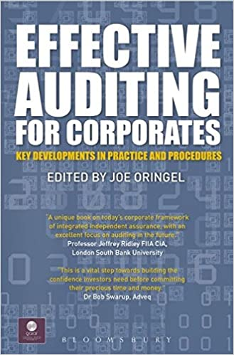 Effective Auditing For Corporates: Key Developments in Practice and