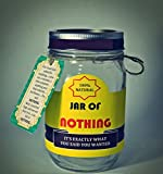Jar of Nothing - Best Gag Gift | White Elephant Gift | Funny Gift for Boyfriend | Gift for Girlfriend | Gift for Men | Gift for Women | Gift for Friend | Birthday Gift | Christmas Gift | Jar Size 16oz