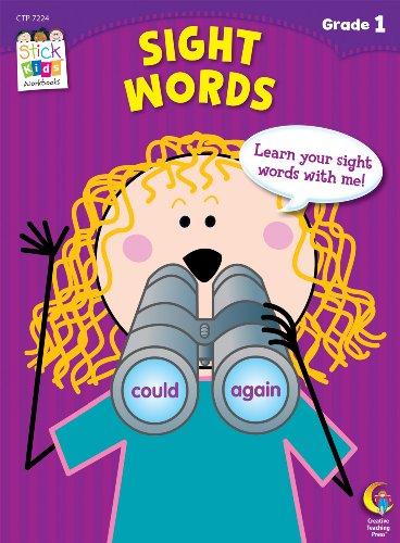 Sight Words Stick Kids Workbook, Grade 1 (Stick Kids Workbooks)