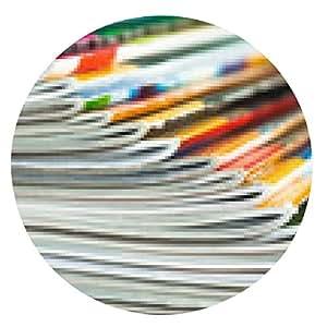 alfombrilla de ratón revistas aventadas - ronda - 20cm