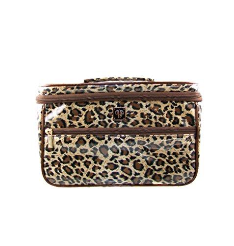 PurseN Toiletry Train Case (Leopard)