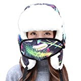 RACHAPE Cute Women Fashion Winter Hats Trooper Skiing Hiking Hat With Ear Flap