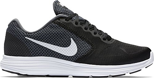 Nike Men's Revolution 3 Running Shoe, Grey/Black, 11 M US