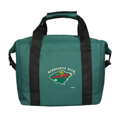 fan products of NHL Minnesota Wild Soft Sided Cooler Bag (Holds a 12-Pack)