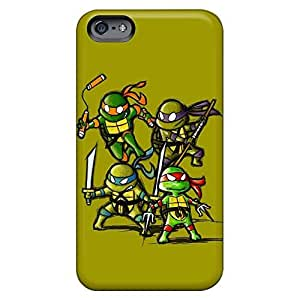 High Grade phone cover skin Pretty Iphone Cases Covers Abstact iphone 4 /4s - little ninja turtles