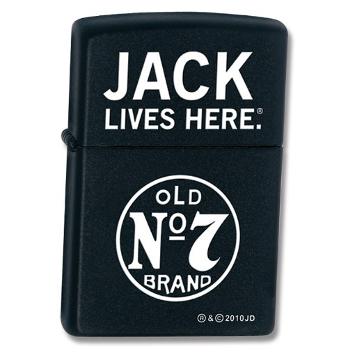 Zippo Gift Set Jack Daniels Blk Lighter/Cards