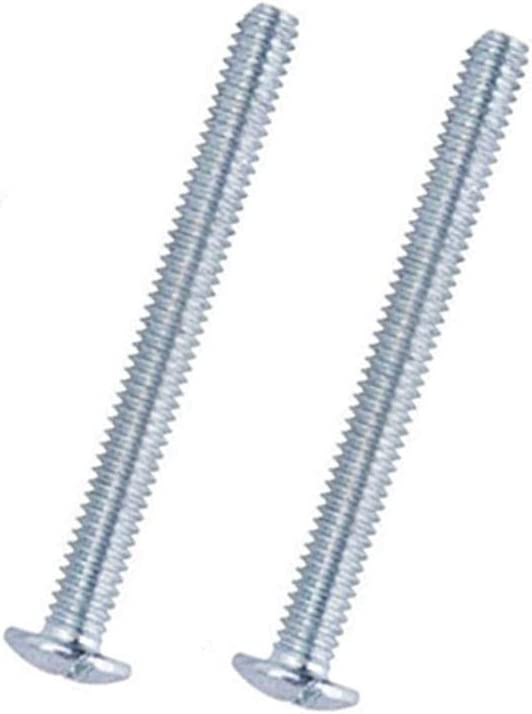 Door Thickness Replacement Screws for T bar Pull 1.38 Fit for 24mm -29mm 25 Pieces M4 Screws Length 35mm 0.94 1.14