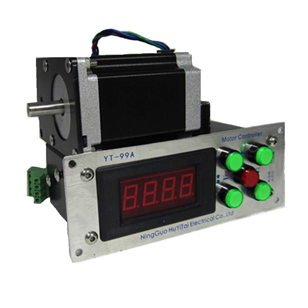 MXBAOHENG Low Variable Speed Coil Winding Machine Winder 2-Directions 0.1 Turn Foot Pedal Tools Sets